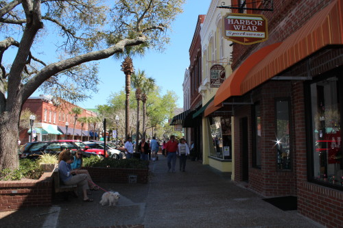 Historic downtown Fernandina