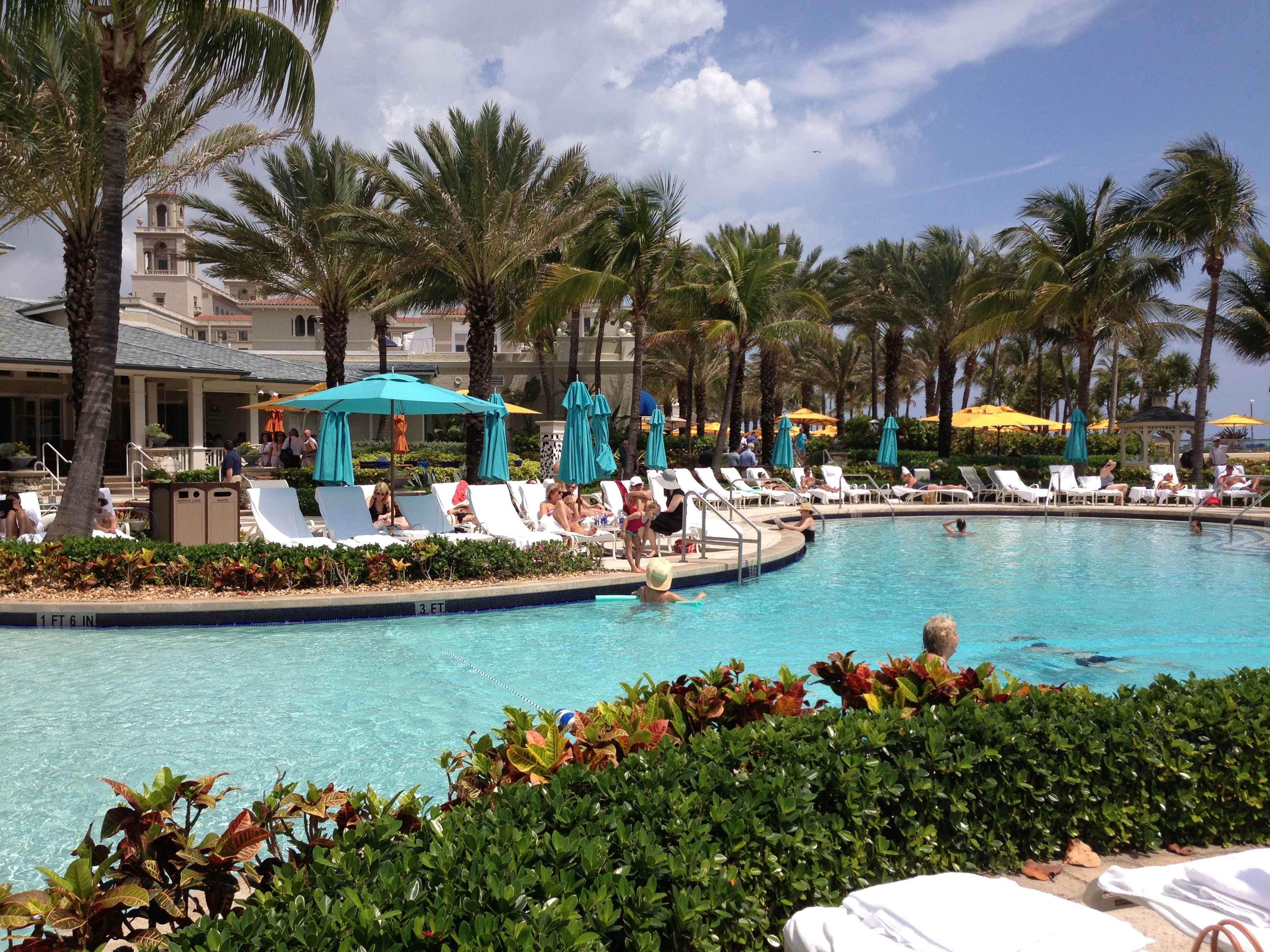 Palm beach girls weekend haute holidays travel - Palm beach pool ...
