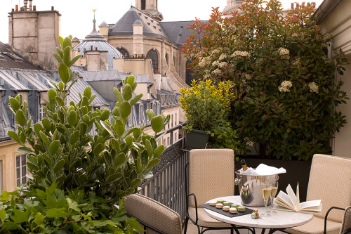 Terrace Suite at the Esprit Saint Germain