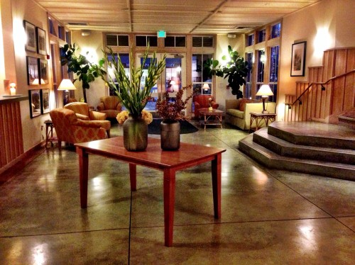 Southbridge lobby