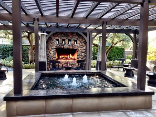 Hotel Yountville outdoor space