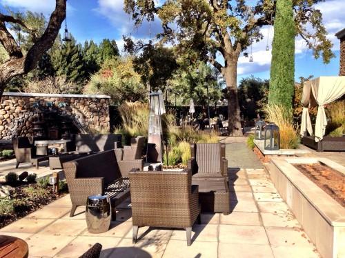 Hotel Yountville outdoor patios