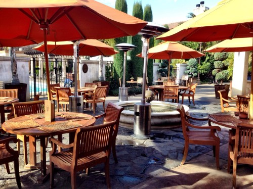 Villagio outdoor patio
