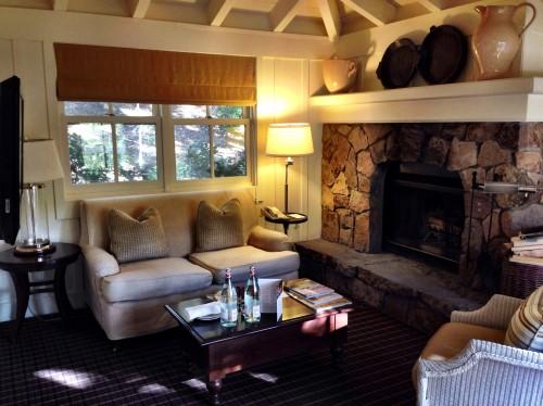 Treeline lodge #6 living room