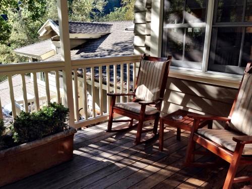 Treeline lodge #6 patio