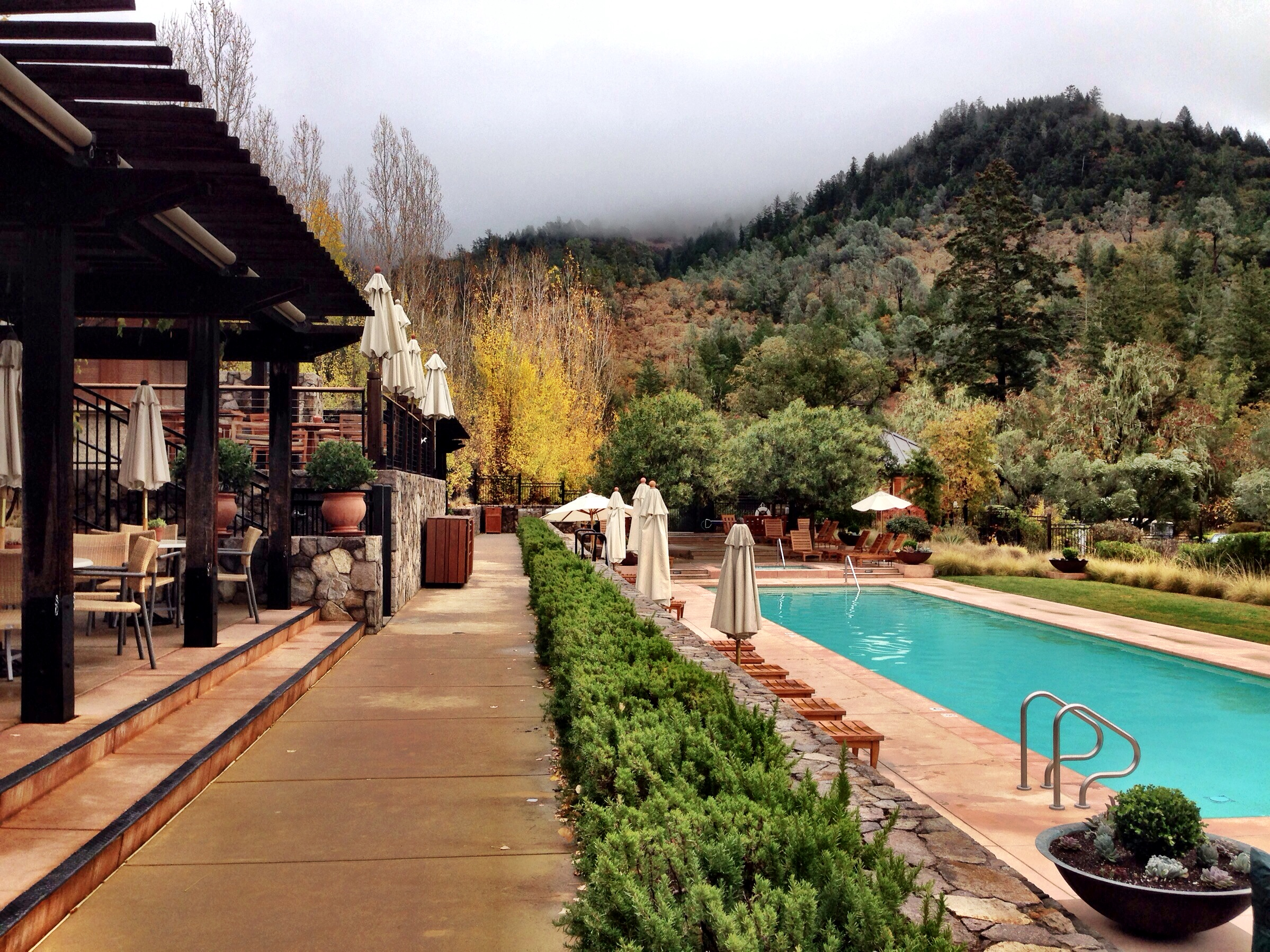 Calistoga Ranch adult pool