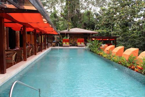 Quiet pool at Nayara Springs