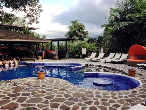 Main pool at Nayara Hotel
