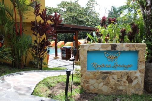 Entrance to Nayara Springs