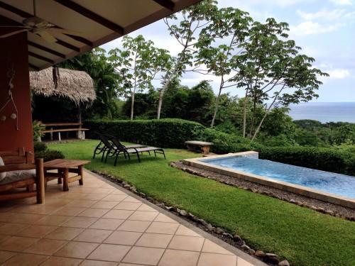 Punta Islita villa yard