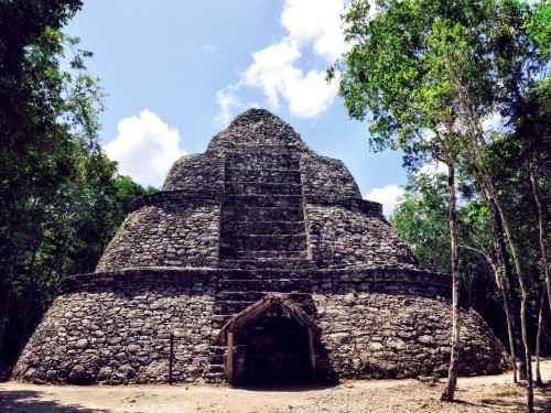 Part of the ancient Mayan site of Coba
