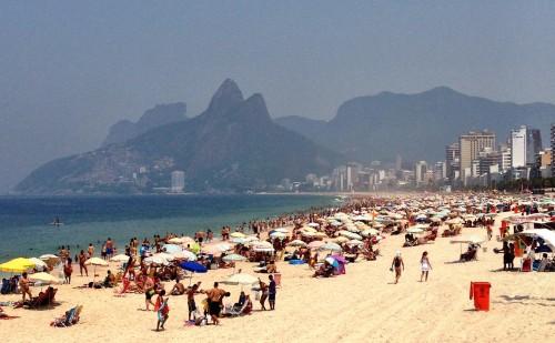World-famous Ipanema Beach