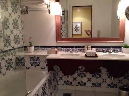 Deluxe Room Garden Wing bath