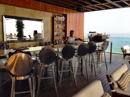 Fasano's rooftop poolside bar