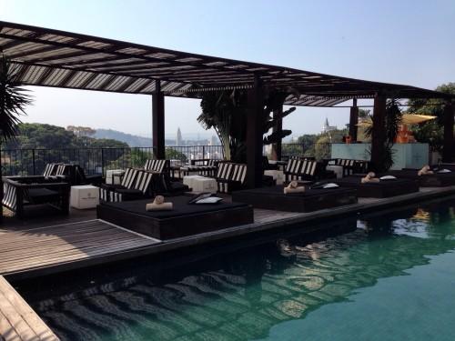 Hotel Santa Teresa rooftop pool