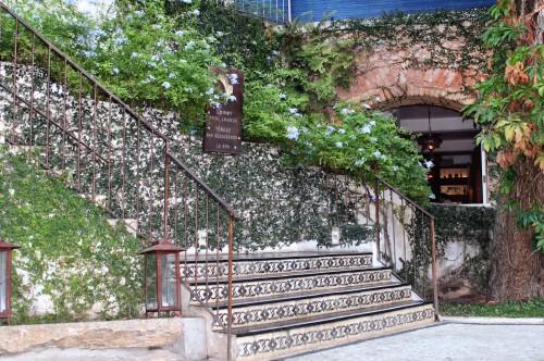 Hotel Santa Teresa - cute vine-covered walls