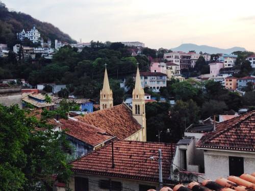 Hotel Santa Teresa - view from room #27