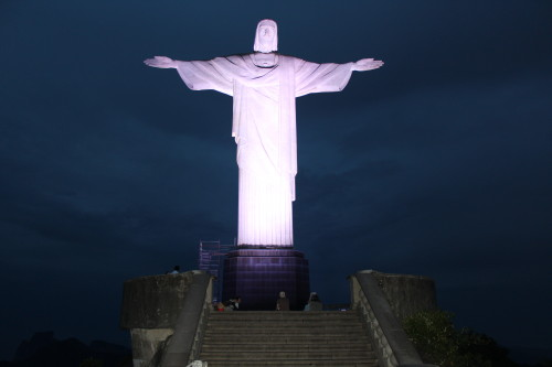 Christ the Redeemer at daybreak