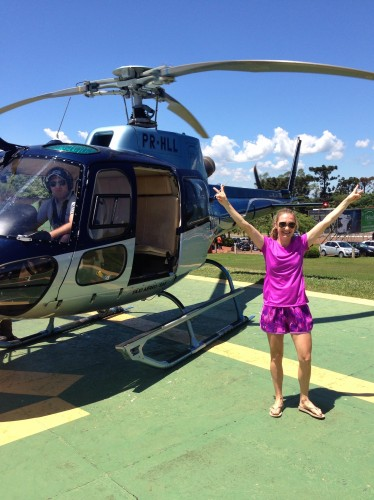 FIrst helicopter ride = success!!