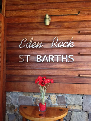 Welcome to the Eden Rock St. Barths!