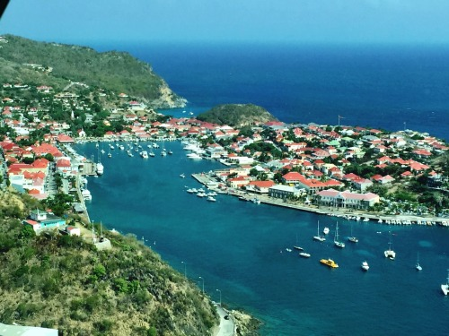 Views of Gustavia from the air