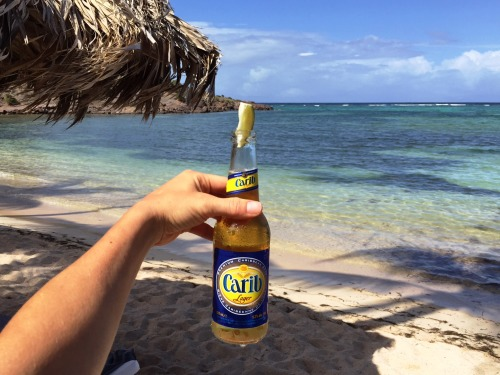 Carib beer = the best