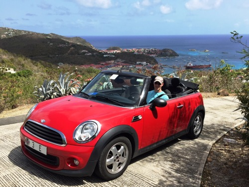 Our rental Mini Cooper!!