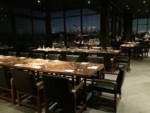 Manta restaurant by Enrique Olvera