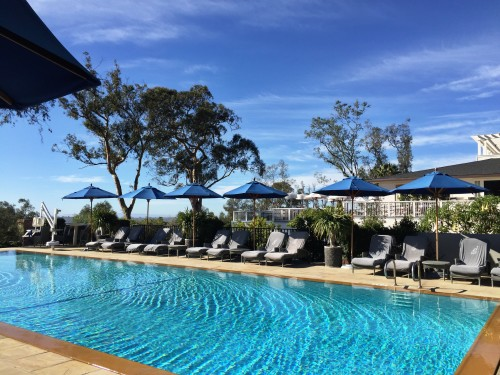 El Encanto's heated saltwater pool