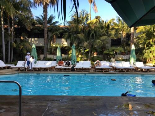 The Four Seasons' jungle pool