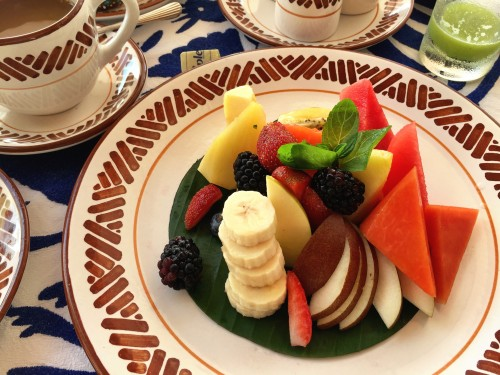 Prettiest fruit plate I ever did see!