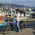 Exploring Santa Barbara by electric bike, compliments of El Encanto!