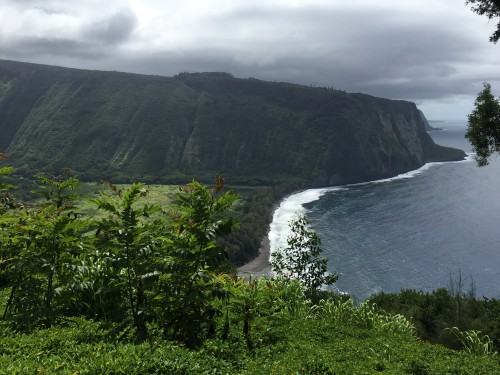 Dramatic vistas at the Waipio Valley lookout.. you can explore the valley floor with ATVs, hiking, etc