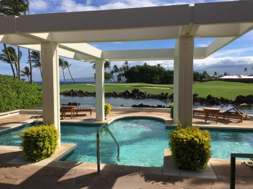 Mauna Lani Bay Hotel & Bungalows- one of the oceanfront bungalows with private pool