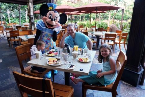 Disney's Aulani Oahu- character breakfast at Makahiki!
