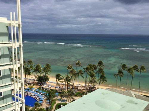 The Kahala Resort, Oahu- views from our room