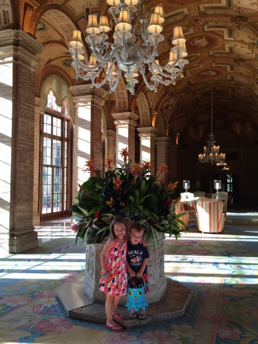 GORGEOUS lobby, they change these flowers weekly!