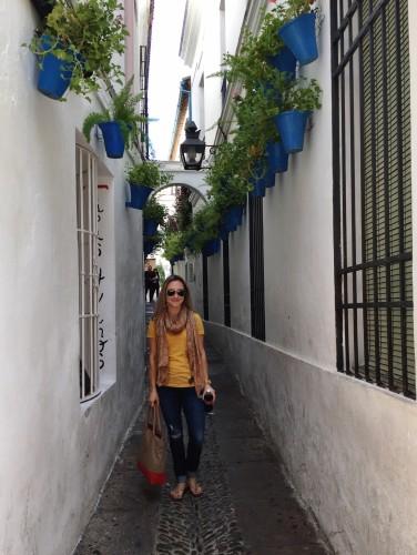 Narrow alleys of Cordoba