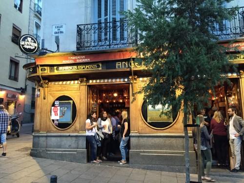 Tapas bar in Chueca Madrid