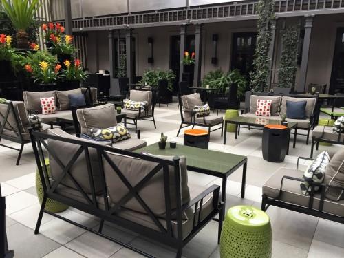 Villa Magna outdoor terrace