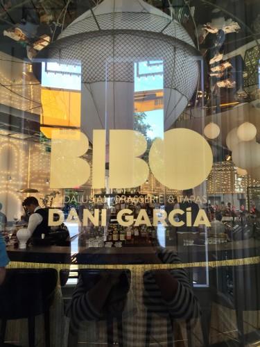 Lunch at hot spot Bibo by Dani Garcia