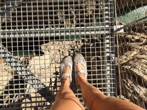 Caminito Del Rey- the river is waaay below