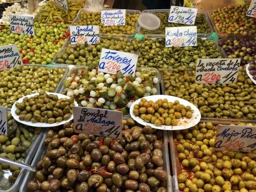 Malaga local market