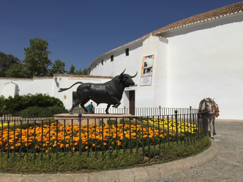 Ronda bullring, the world's oldest!