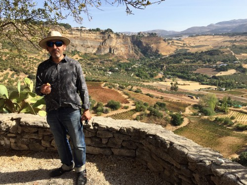 Flavio is an architect turned winemaker from Argentina