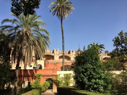 Royal Alcazar Palace gardens