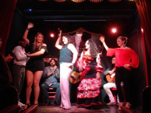 I attempted flamenco, too! So fun!