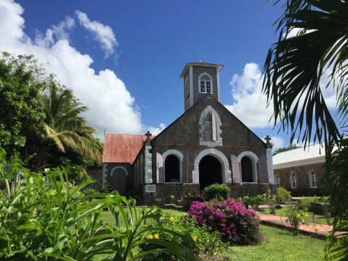 St. Paul's Anglican church in Charlestown, Nevis