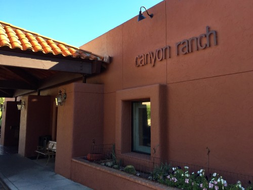 Canyon Ranch entrance