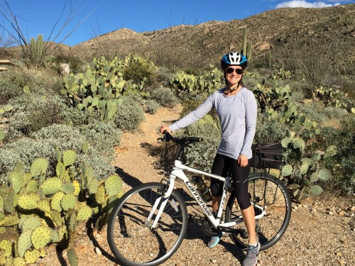 Saguaro National Park bike ride!